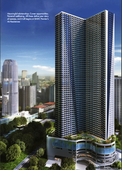 Air Residences Pre Selling SMDC Makati Condo Facade