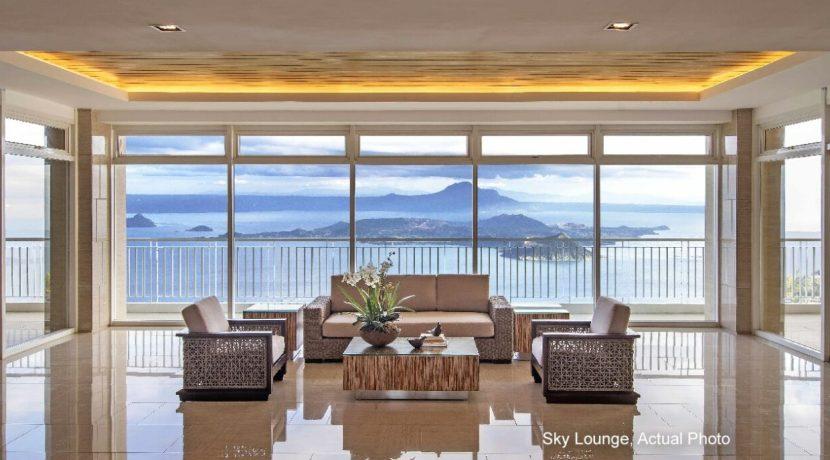 SMDC Tagaytay Condo Sky Lounge