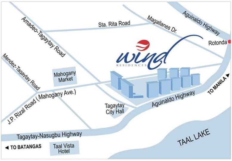 Wind Residences Tagaytay Condominium for Sale