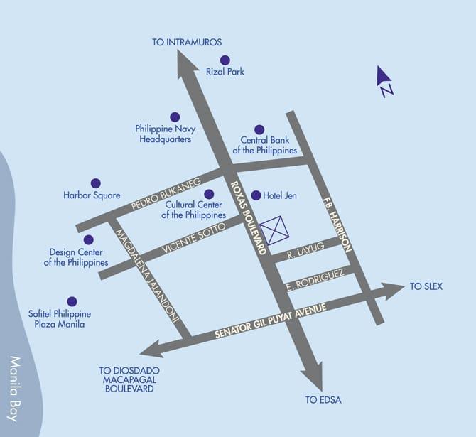 Radiance at Manila Bay location and vicinity