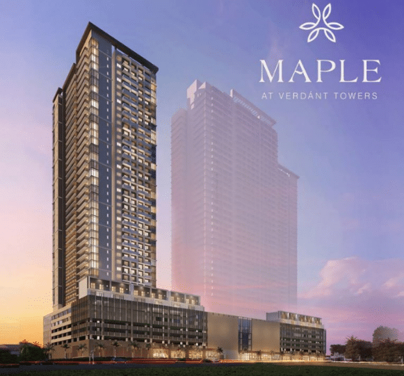 Maple at Verdant Towers - pre selling condo at Ortigas East