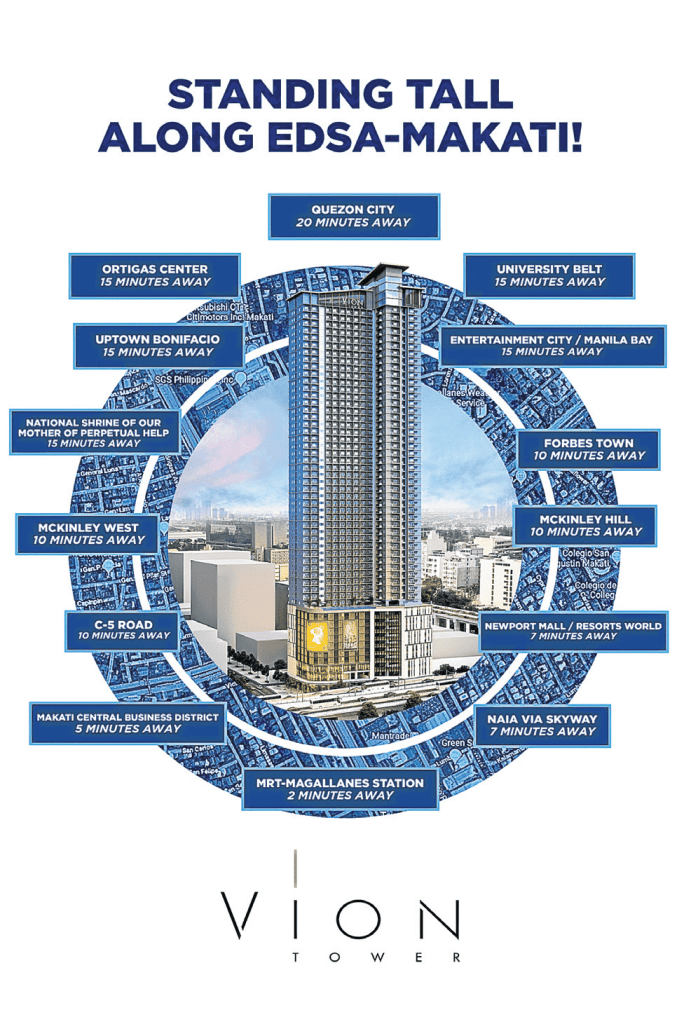 Vion Tower Infographic