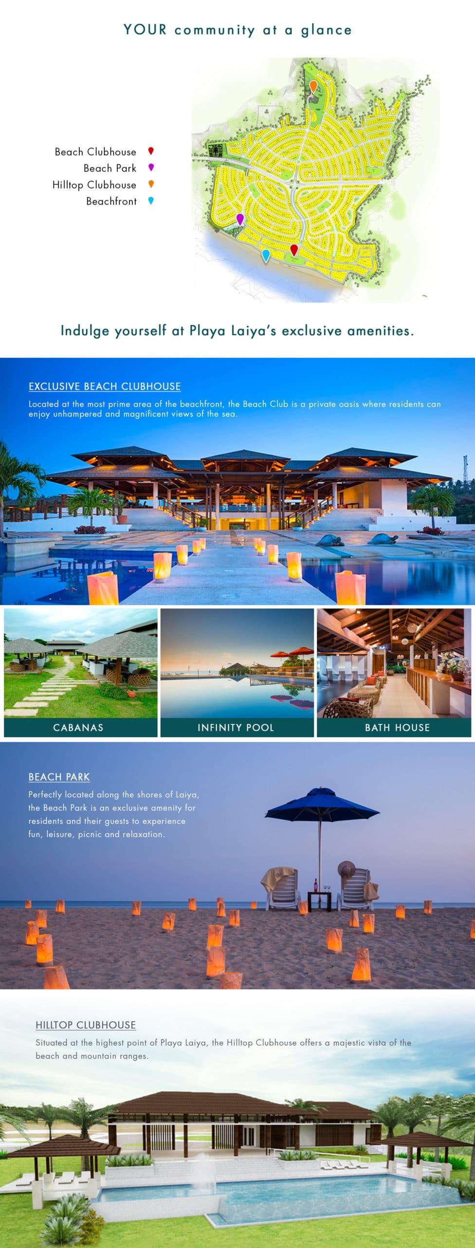 Playa Laiya Beachfront Lots for Sale Amenities