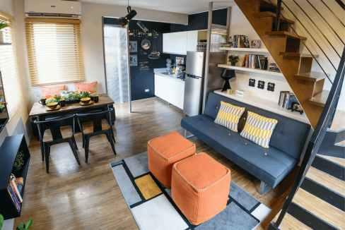Model Unit - Living Room