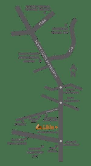 Likha Residences Location and Vicinity