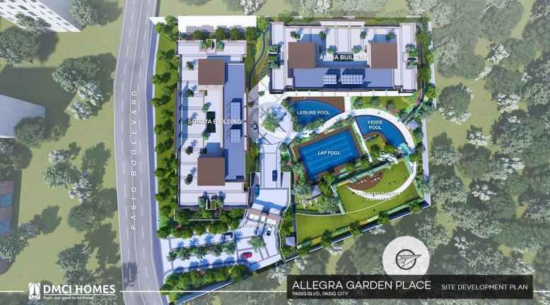 Allegra Garden Place Site Development Plan