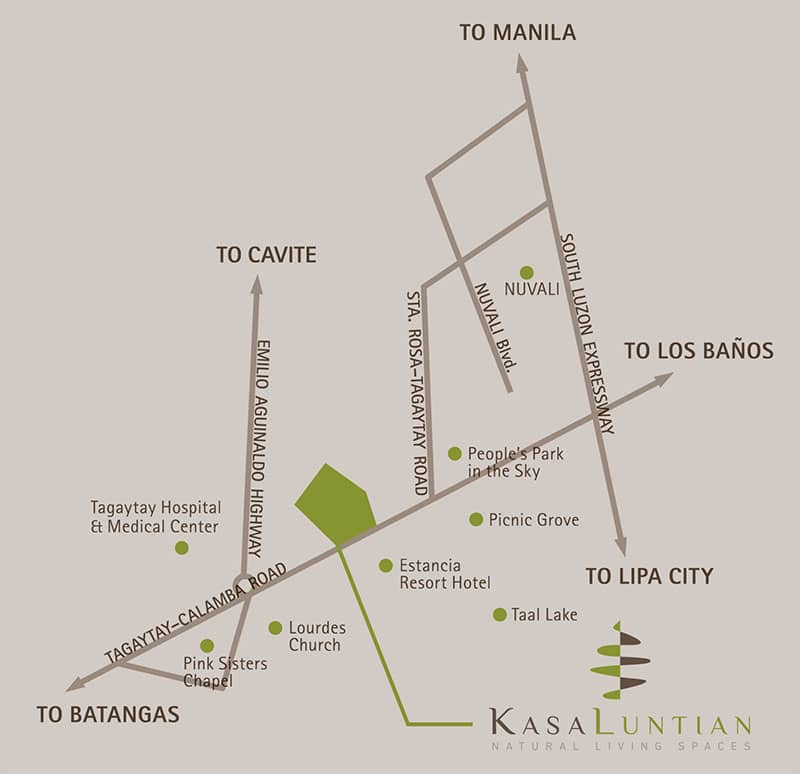 Kasa Luntian location and vicinity