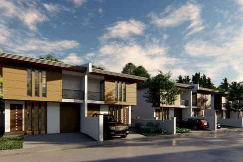 Upland Villas Megaworld - townhouses for sale at Southwoods City