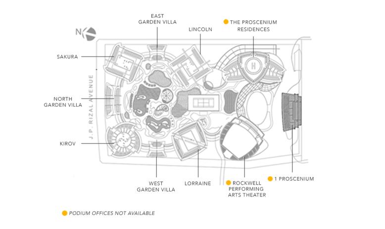 Proscenium Podium Offices Site Development Plan