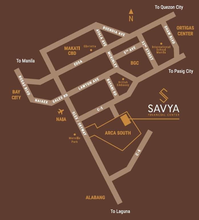 Savya Location and Vicinity
