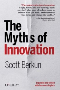 "Portada del libro ""The Myths of Innovation"""