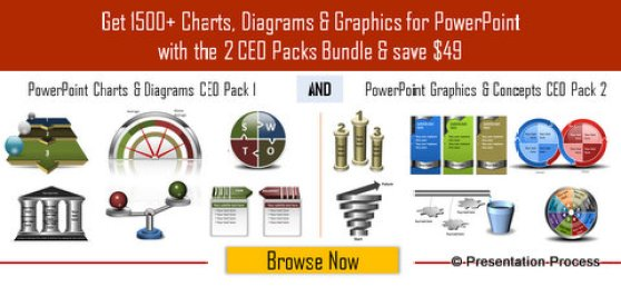 Browse Gallery of PowerPoint charts and diagrams CEO Pack