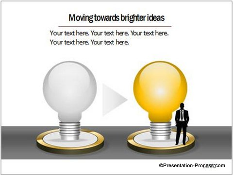 Bright Idea PowerPoint Charts CEO Pack