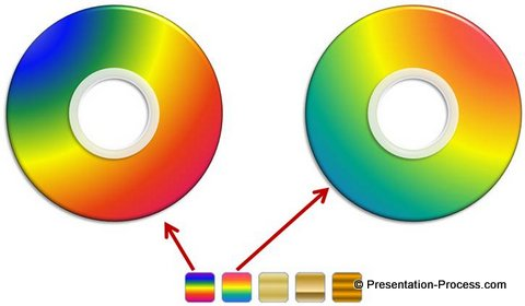 Colorful CD Graphic