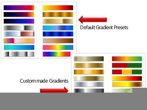 Compare custom to default color shades