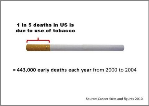 Visual Presentation of Tobacco Correct