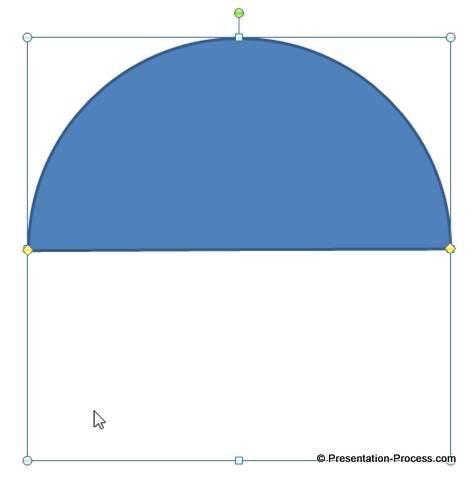 Semi Circle Base for Meter
