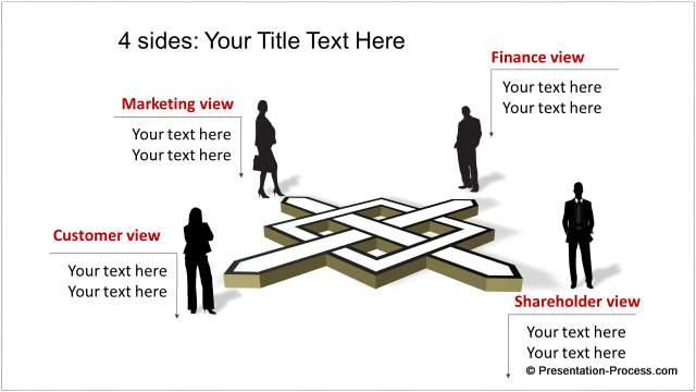 4 Sides Unique Diagram