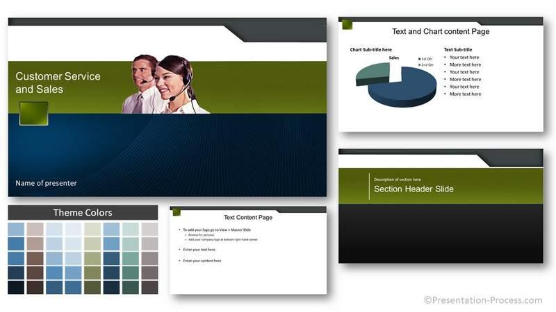Customer Service Title Slide