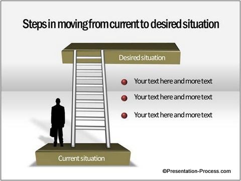 inal Staircase Diagram in PowerPoint