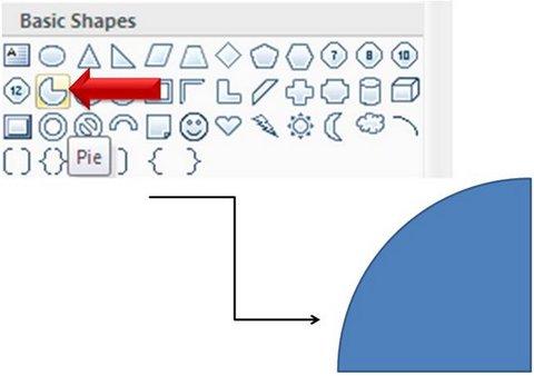 Pie Shape PowerPoint