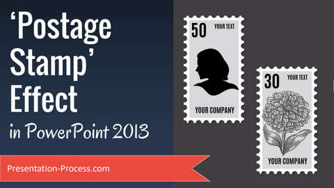 postage stamp effect in powerpoint 2013, Powerpoint templates