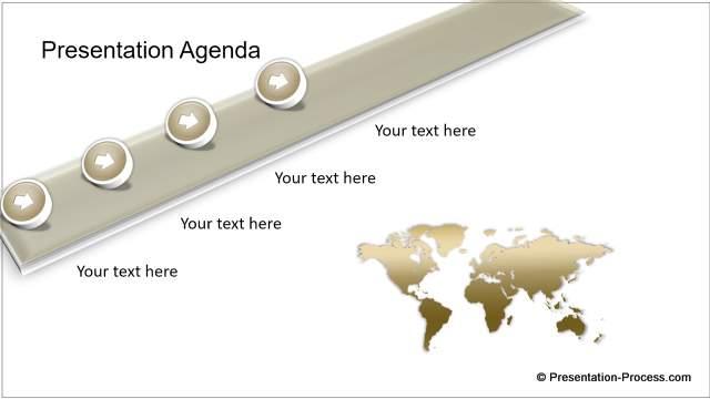 Animated Gold Agenda