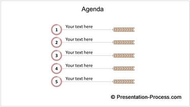 Animated Agenda List