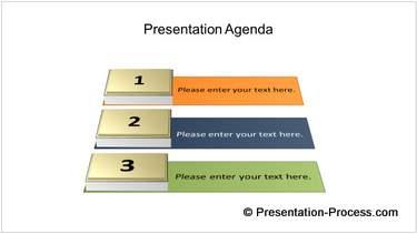 3D Agenda List
