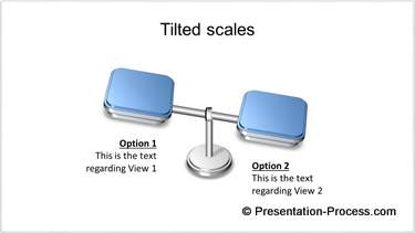 Tilted Scales