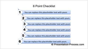 6 Point Checklist Template