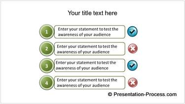 PowerPoint Template for Quiz
