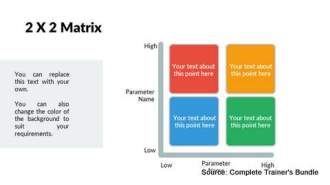 PowerPoint Framework Matrix