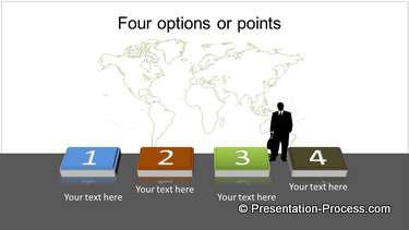 PowerPoint 3D List