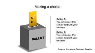 Ballot PowerPoint Template