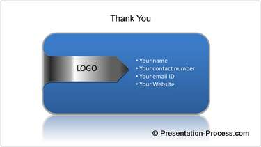 PowerPoint Thank You Slide
