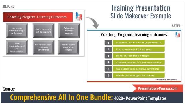 training slides