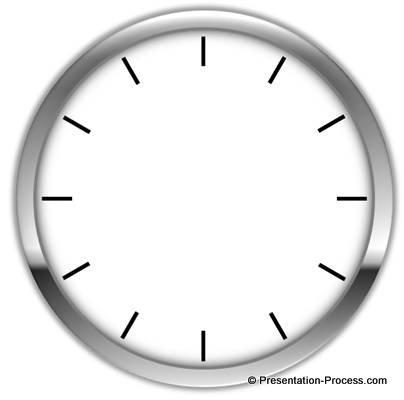 Adding a Glossy Circle to Clock