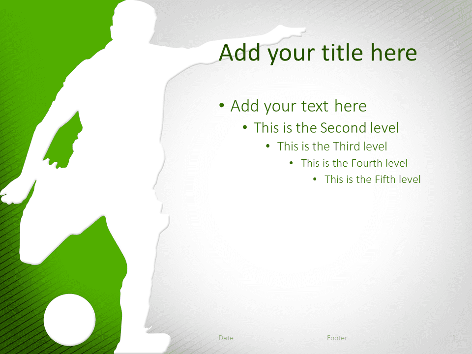 Soccer The Free Powerpoint Template Library