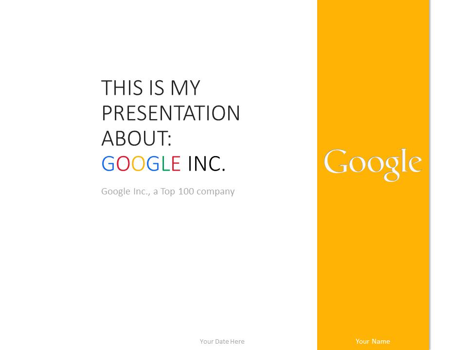 Google Powerpoint Template. google grunge ppt backgrounds template ...