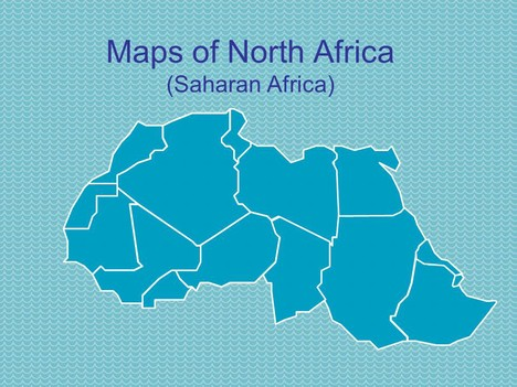 PowerPoint Maps Of North Africa