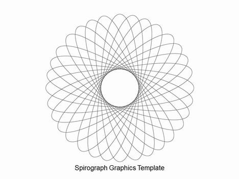 Spirograph Powerpoint Template
