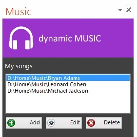 how to add music to the google powerpoint presentation