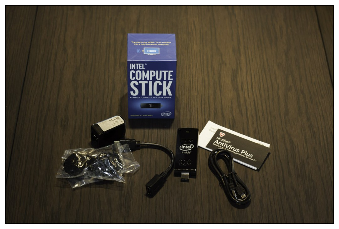 intel computer stick as ideal presentation computer