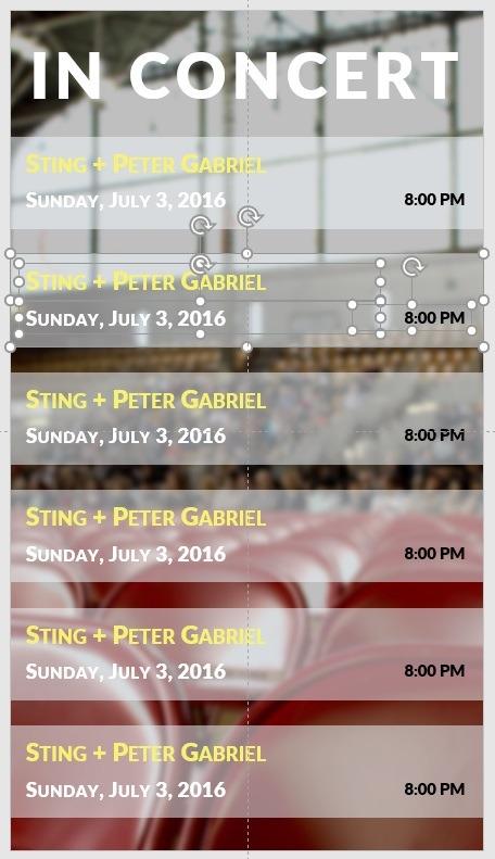 repeat concert info