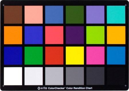 color checker card