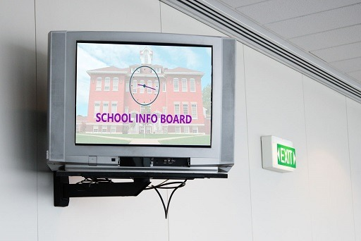 Uses and Benefits of Digital Signage for Schools and Universities