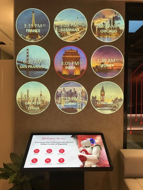 World Time Clock using PowerPoint