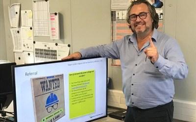 Information Boards: VINCI Energies Case Study