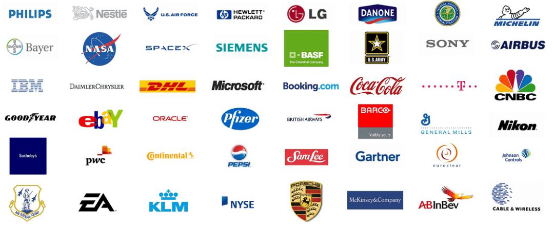 Customers using professional digital signage templates